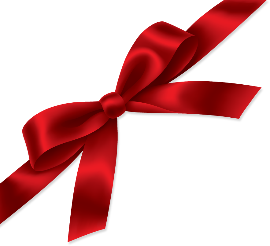 red gift ribbon PNG image - Ribbon PNG
