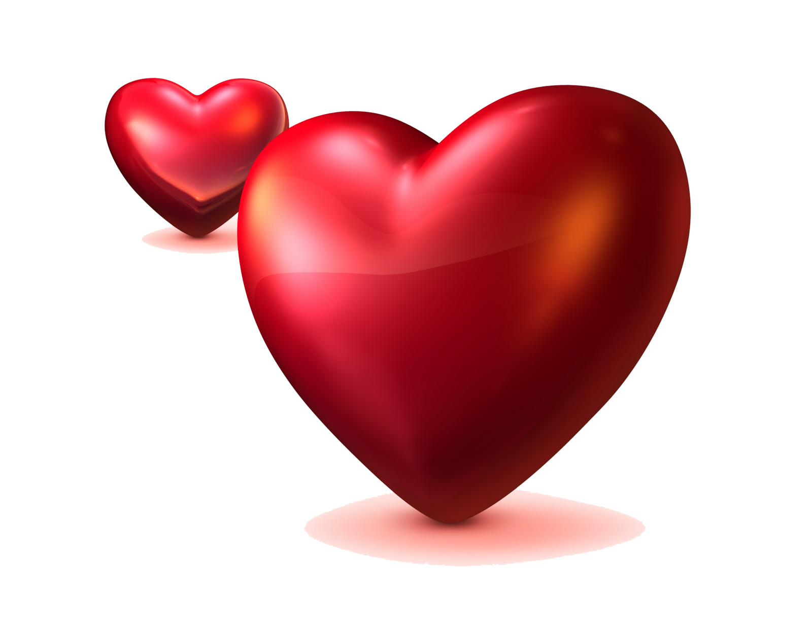 Red Heart Love Png image