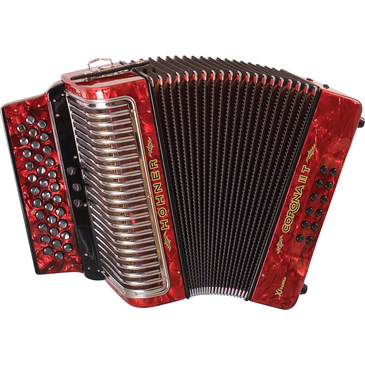 Red Hohner - Accordion PNG