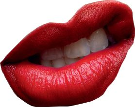 Red Lip PNG - 88758