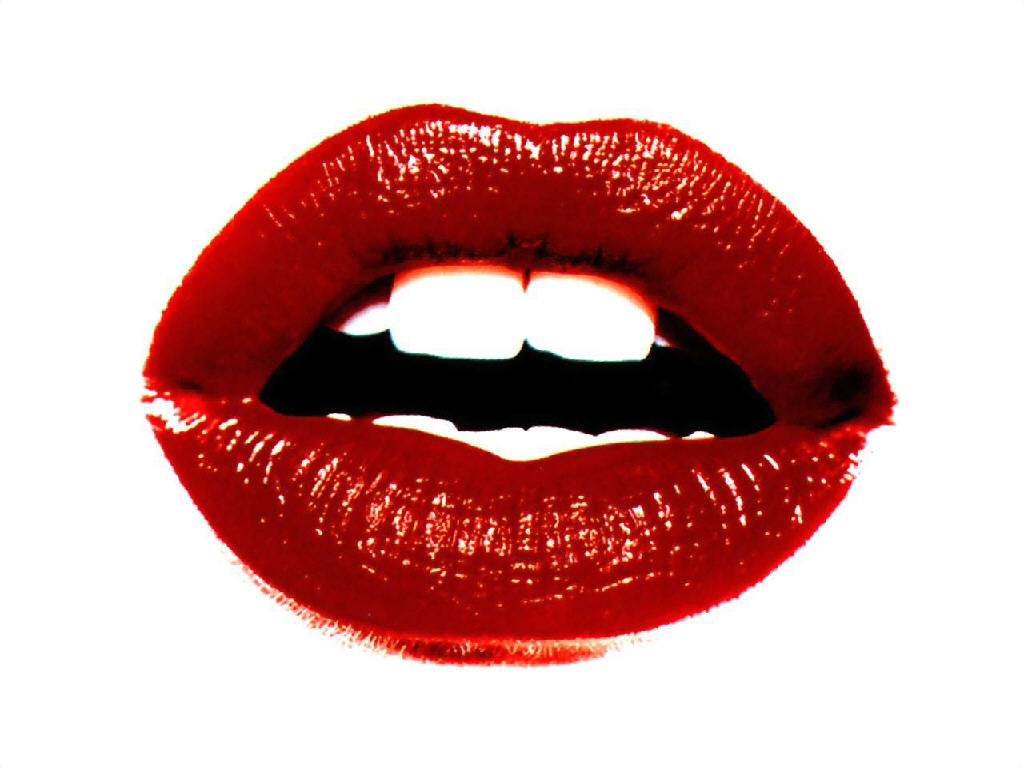 Red Lip PNG - 88765