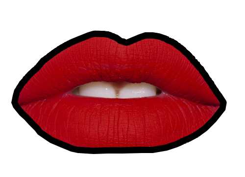 Red Lip PNG - 88761