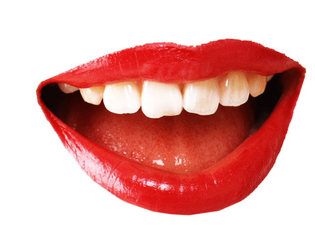 Red Lip PNG - 88760