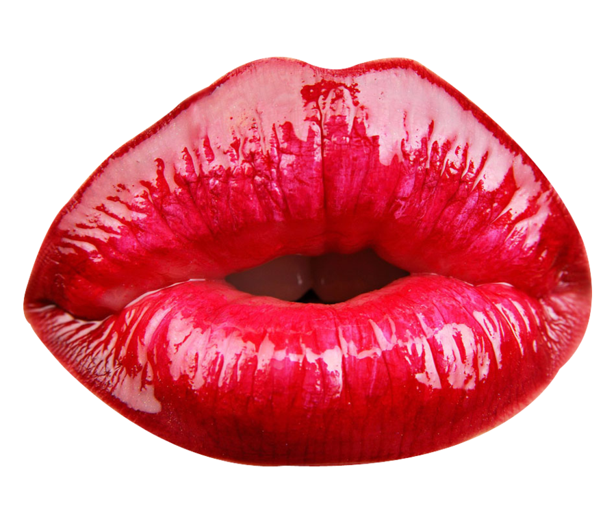 Red Lip PNG - 88757
