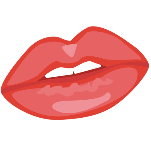 sexy red lip png image - Red Lip PNG