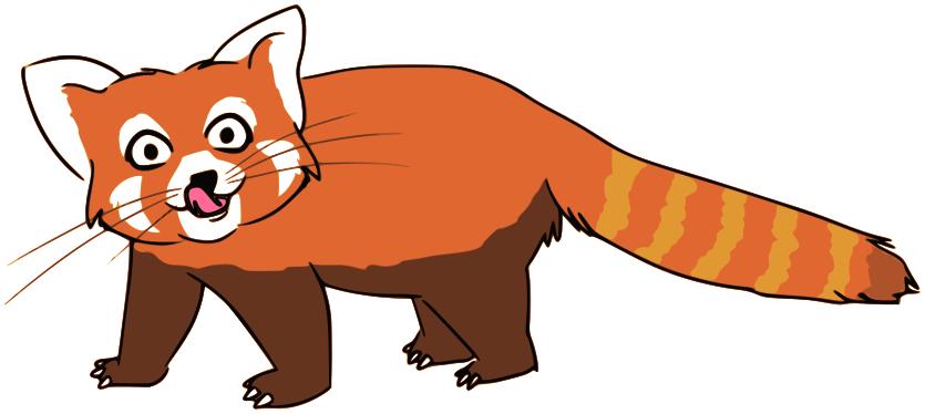 Red Panda PNG - 9389