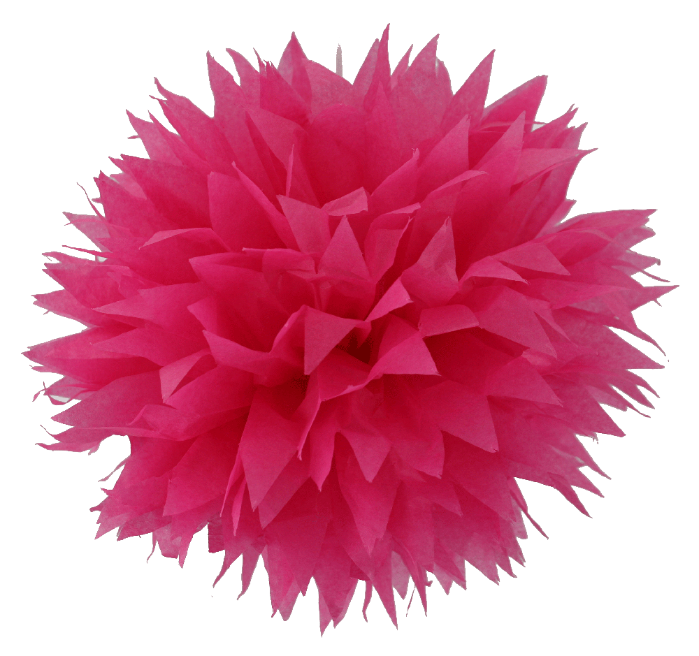 Red Pom Poms PNG - 71550