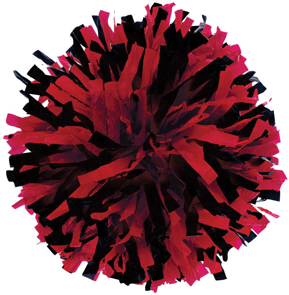 Red Pom Poms PNG - 71559
