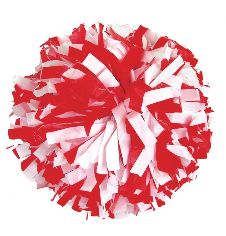 Red Pom Poms PNG - 71551