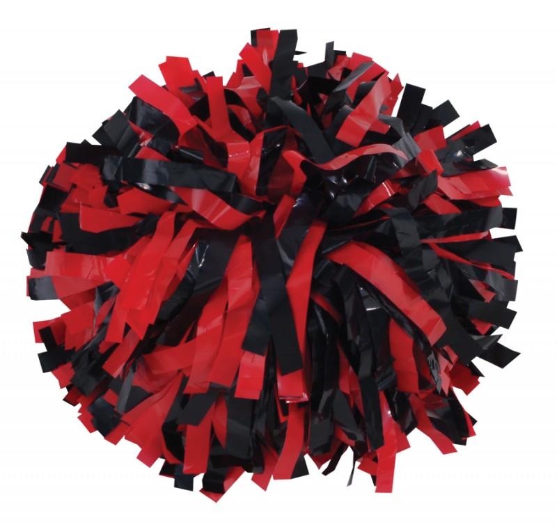 Red Pom Poms PNG - 71555