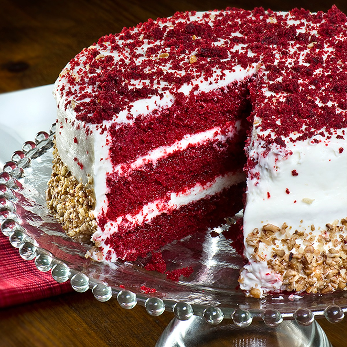 Red Velvet Cake PNG-PlusPNG.com-1200 - Red Velvet Cake PNG