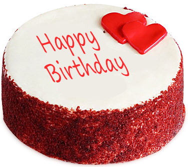 Red Velvet Fondant Cake - Red Velvet Cake PNG