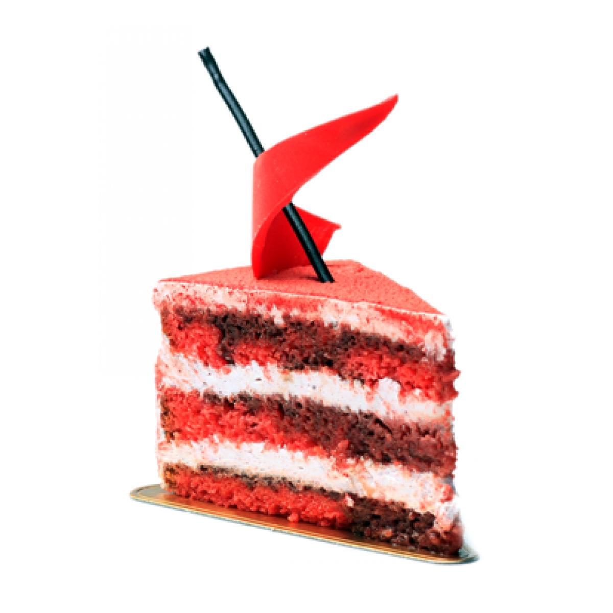 Red Velvet Pastry - Red Velvet Cake PNG