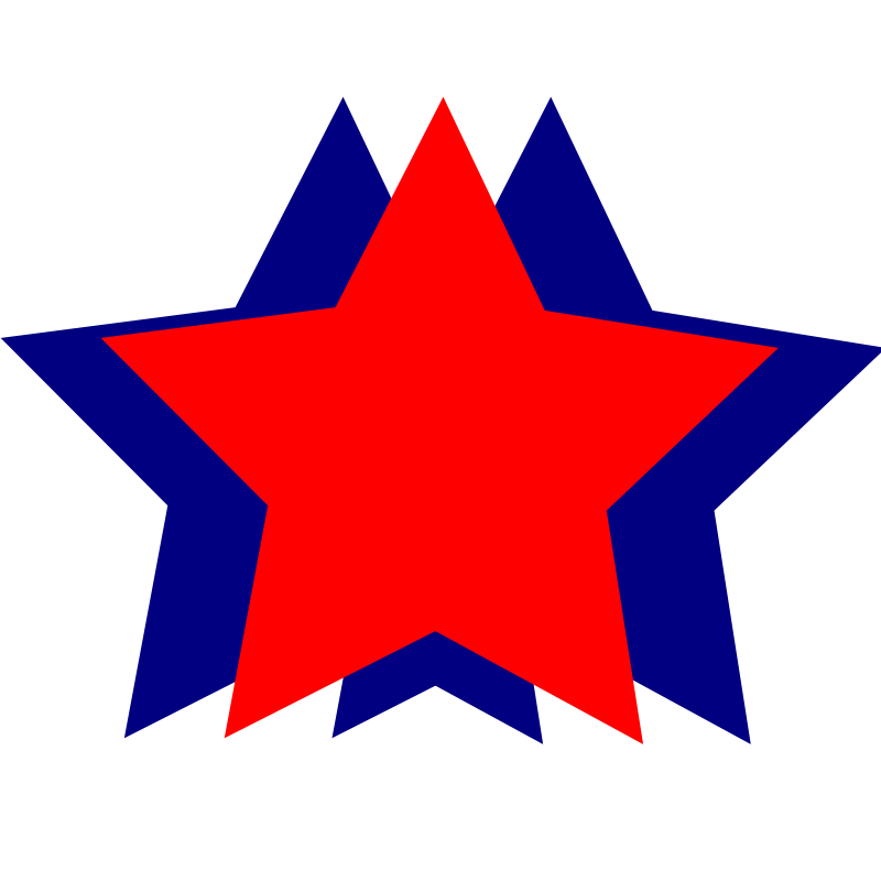 Red White And Blue Star PNG-PlusPNG.com-800 - Red White And Blue Star PNG