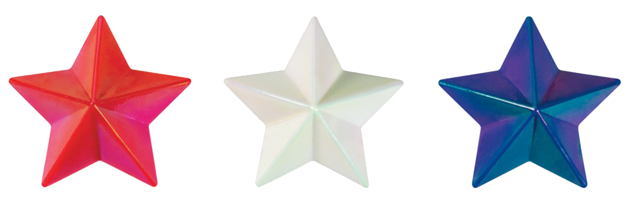 . PlusPng.com RWB Stars.png PlusPng.com  - Red White And Blue Star PNG