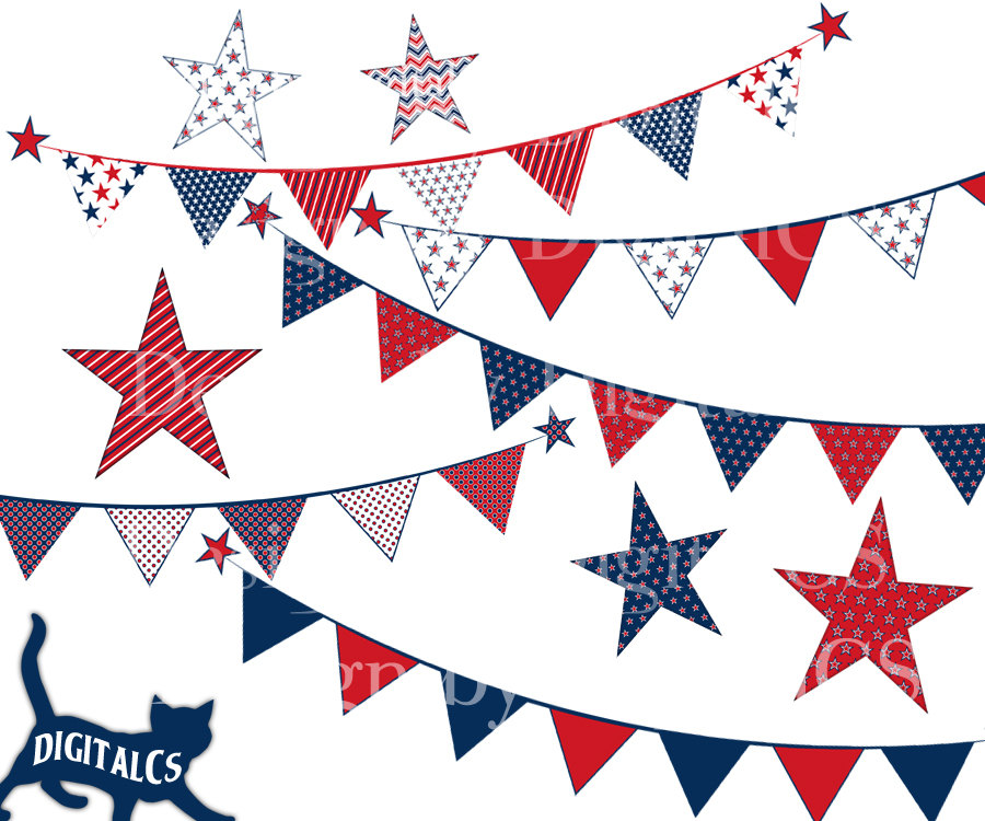 ????zoom - Red White And Blue Star PNG