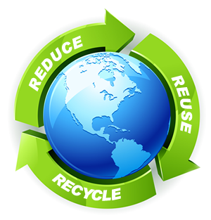Reduce Reuse Recycle Earth PNG - 76337