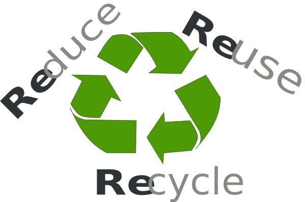 Reduce Reuse Recycle Clip Art at Clker pluspng.com - vector clip art online,  royalty free u0026 public domain - Reduce Reuse Recycle Earth PNG