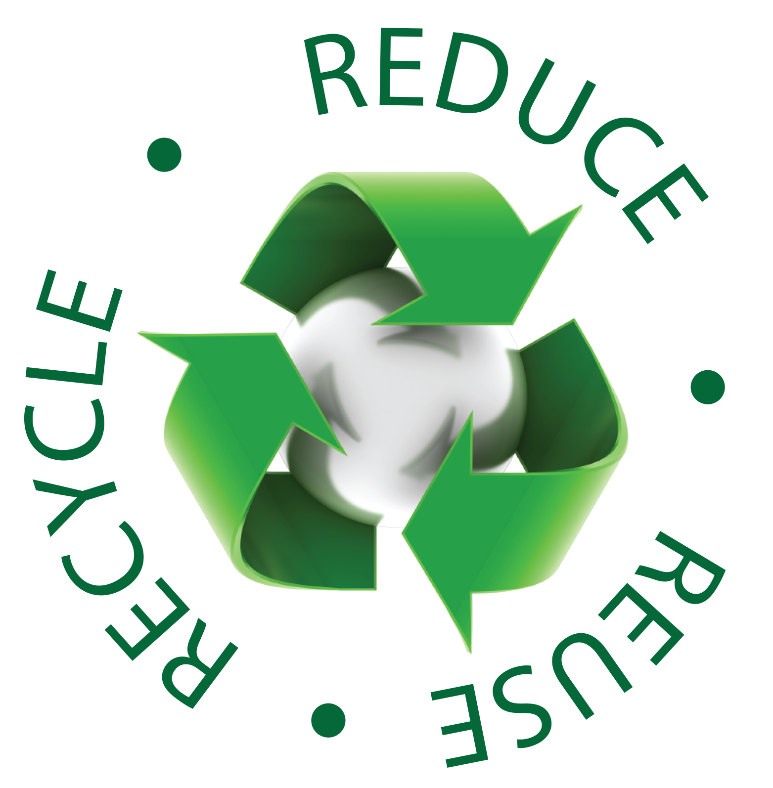 Reduce Reuse Recycle Earth PNG - 76333