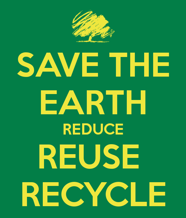 Reduce Reuse Recycle Earth PNG - 76341