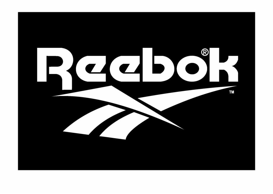 Reebok Logo Black And White - Reebok Logo Png White | Transparent Pluspng.com  - Reebok Logo PNG