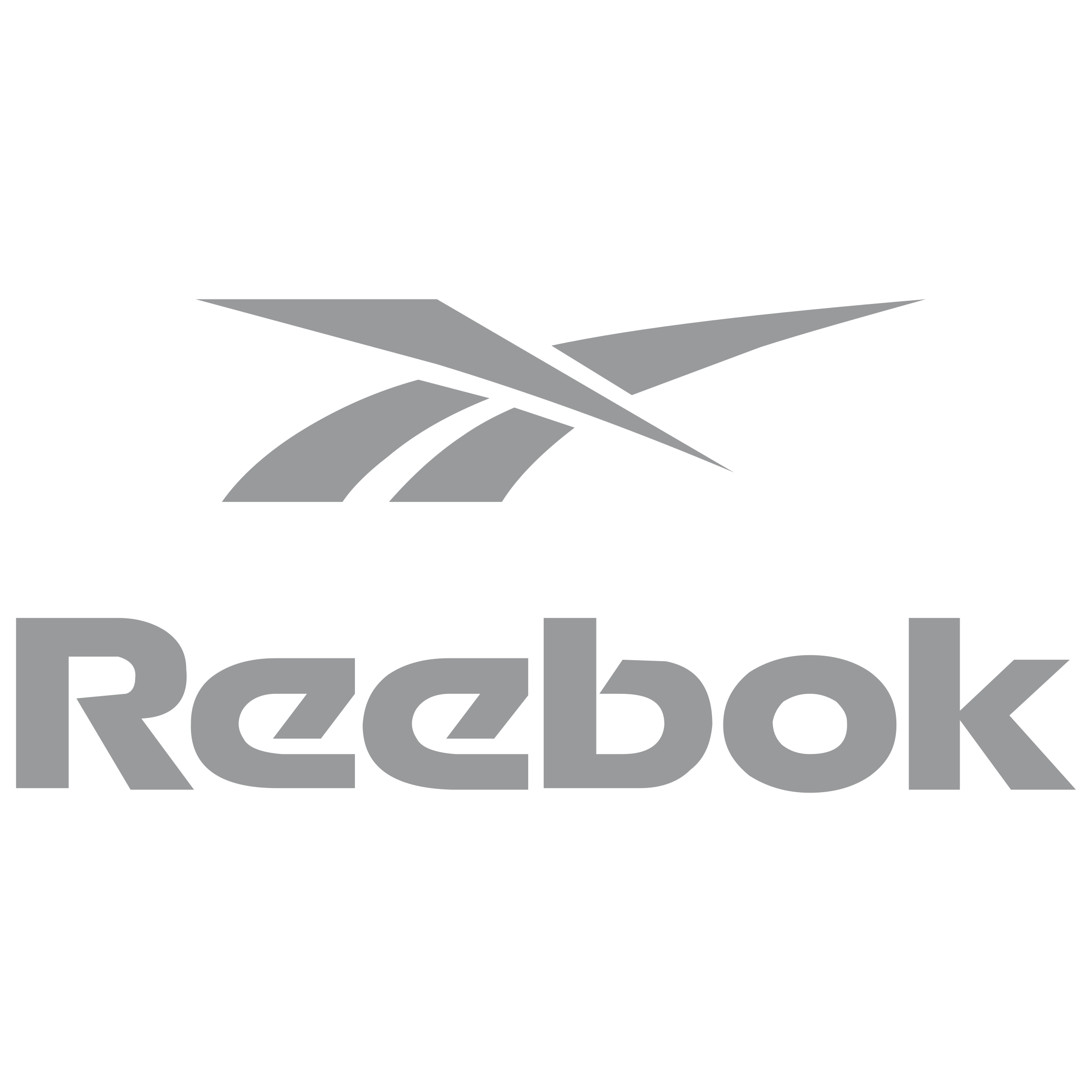 Reebok Logo Black And White -