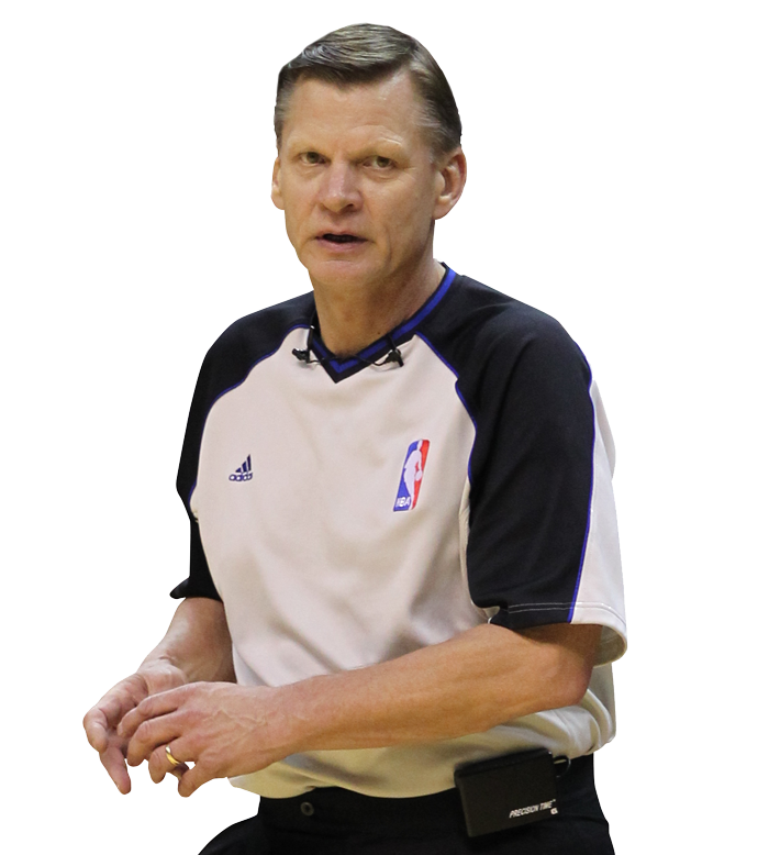 NBA referee and current analyst for ESPN/ABC. - Ref PNG