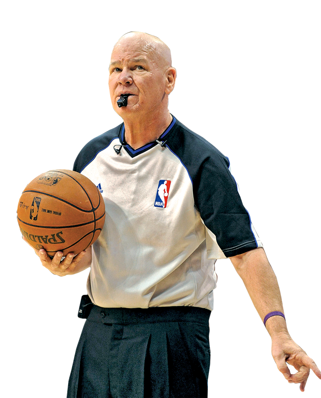 NBA referee who has officiated more than 2,500 regular-season games. - Ref PNG