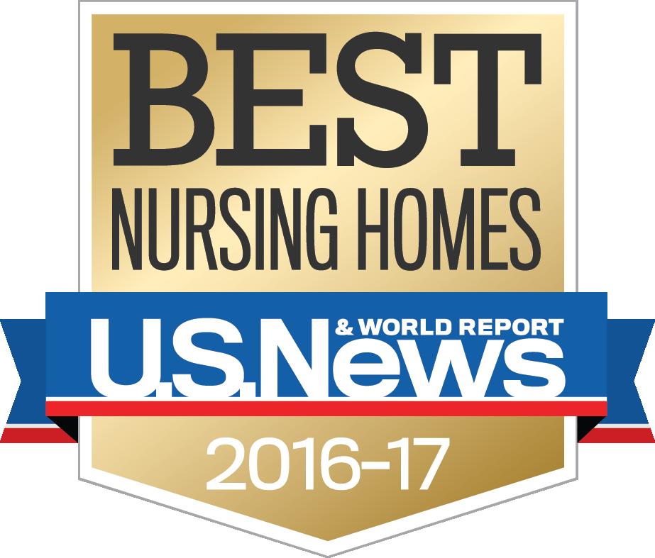 U.S. News Best Nursing Homes 2016-2017 - Rehabilitation Center PNG