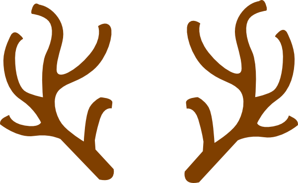 PNG: small · medium · large - Reindeer Antlers PNG
