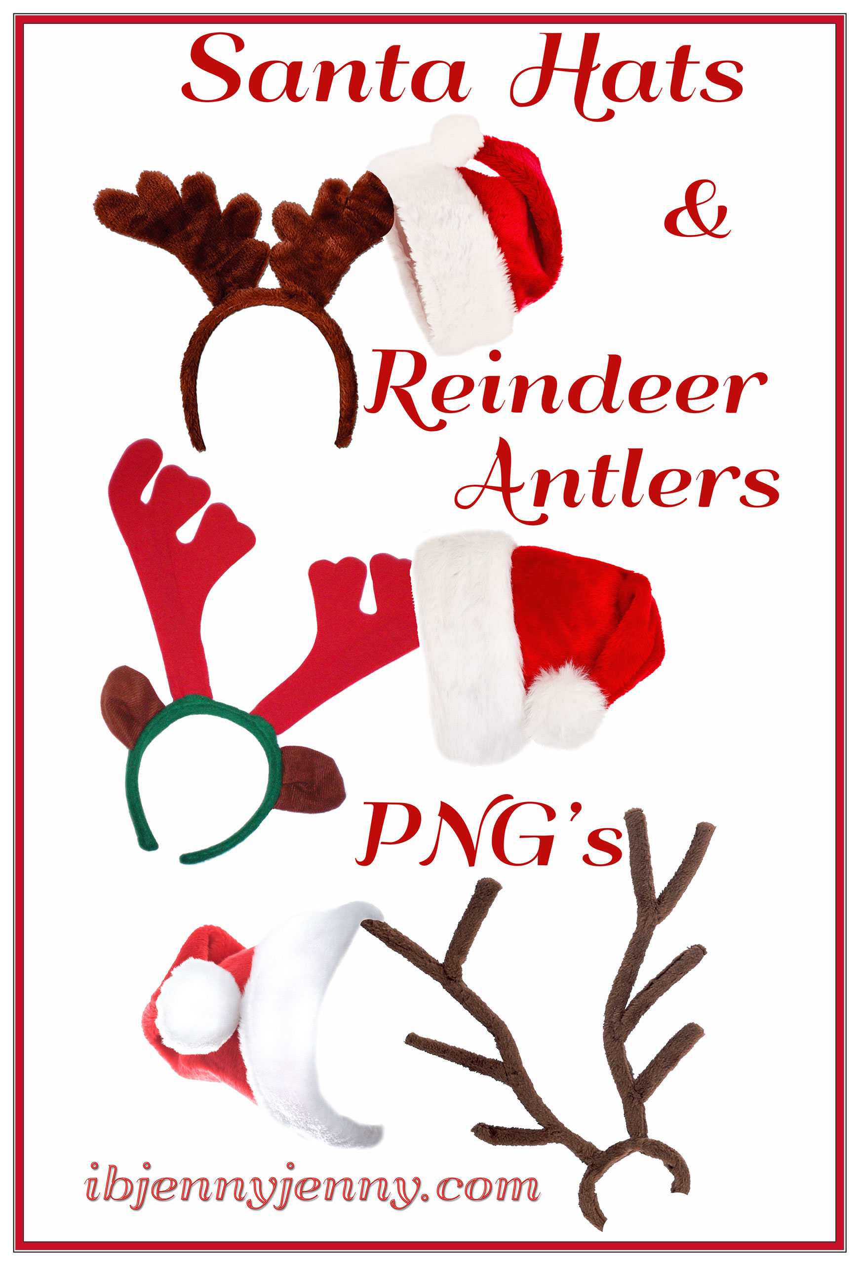 Reindeer Antlers PNG - 67553