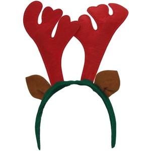 SANTAu0027S SECRETS Reindeer Antlers Headband - Reindeer Antlers PNG