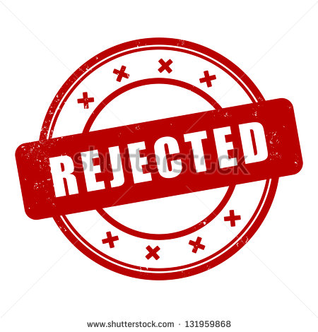 Rejected stamp - Rejected Stamp PNG