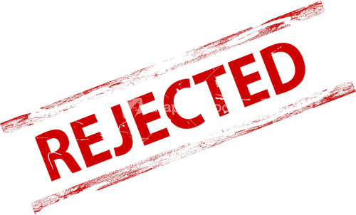 Rejected Stamp PNG - 3886