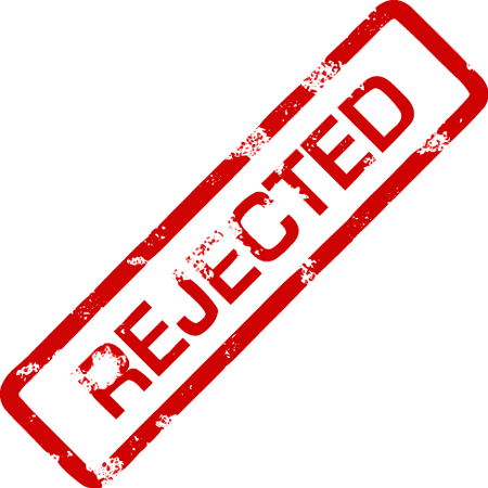 Rejected Stamp PNG - 3903