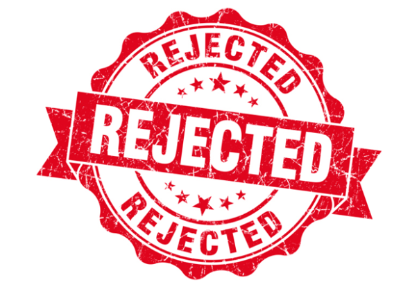 Rejected Stamp PNG - 3904