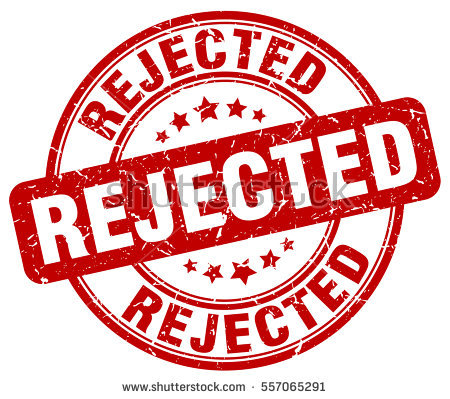 Rejected Stamp PNG - 3895