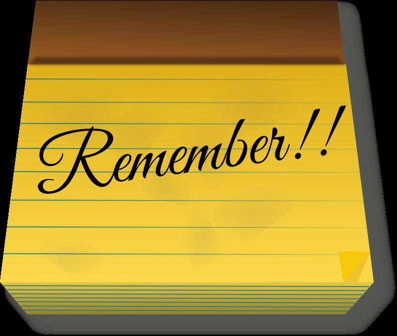 Remember PNG - 15431