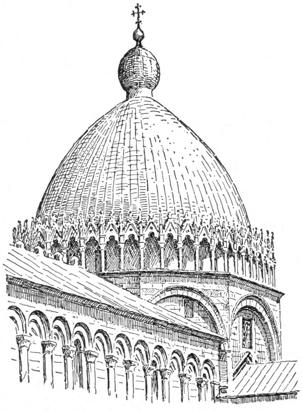File:Dome of Pisa (Character of Renaissance Architecture).png - Renaissance PNG