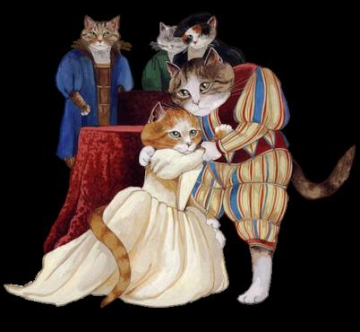 Renaissance-Cats.png - Renaissance PNG