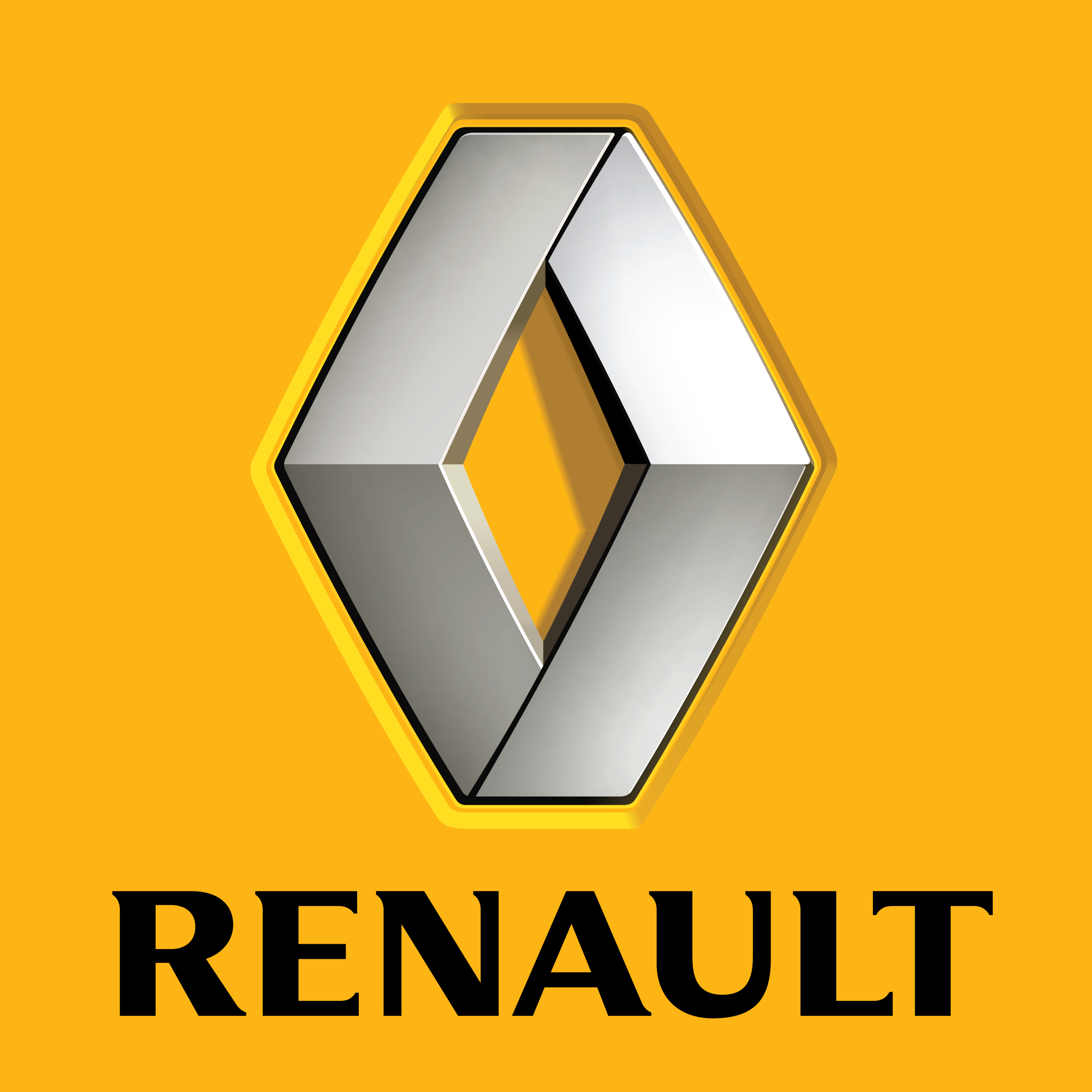 Renault Logo (2007) 2048x2048 HD png - Renault PNG