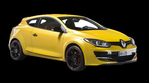 Renault Megane RS Yellow Car PNG Image - Renault PNG