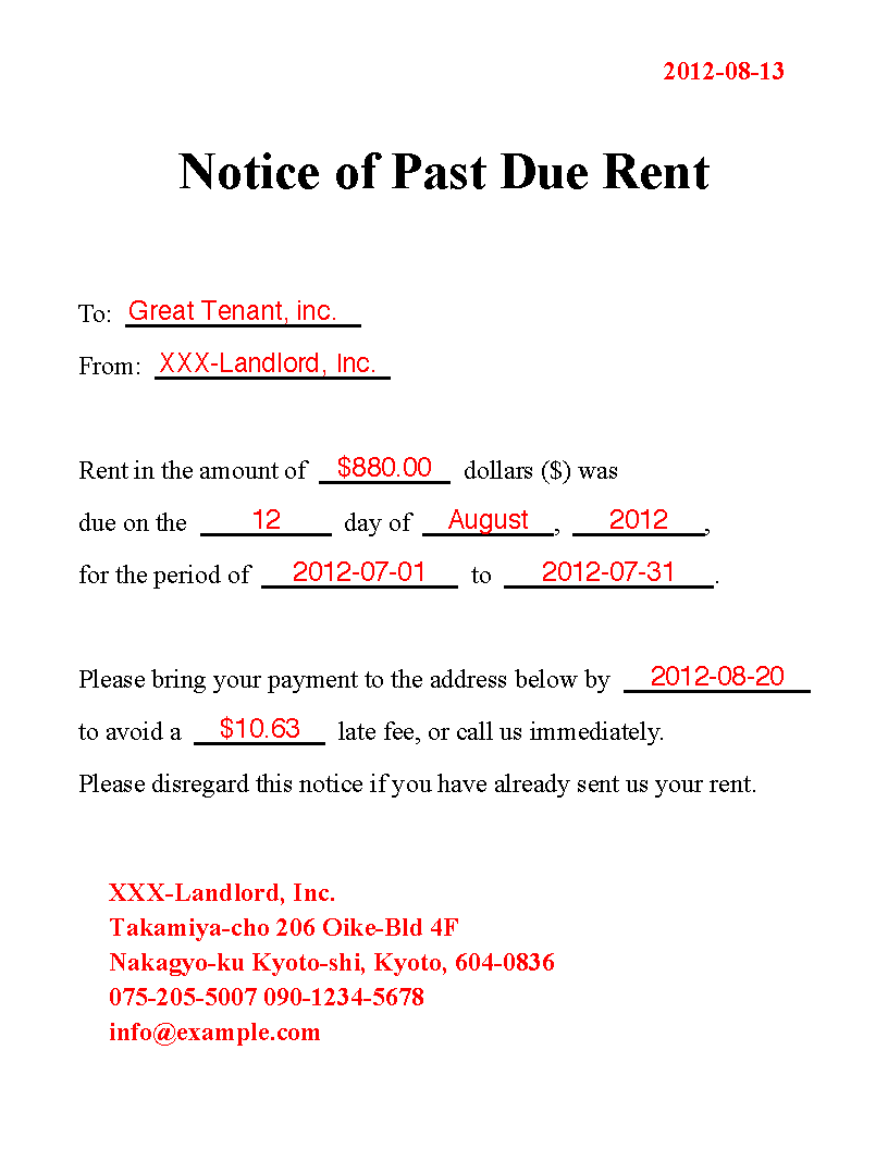 rent past due - Parfu kaptanband co