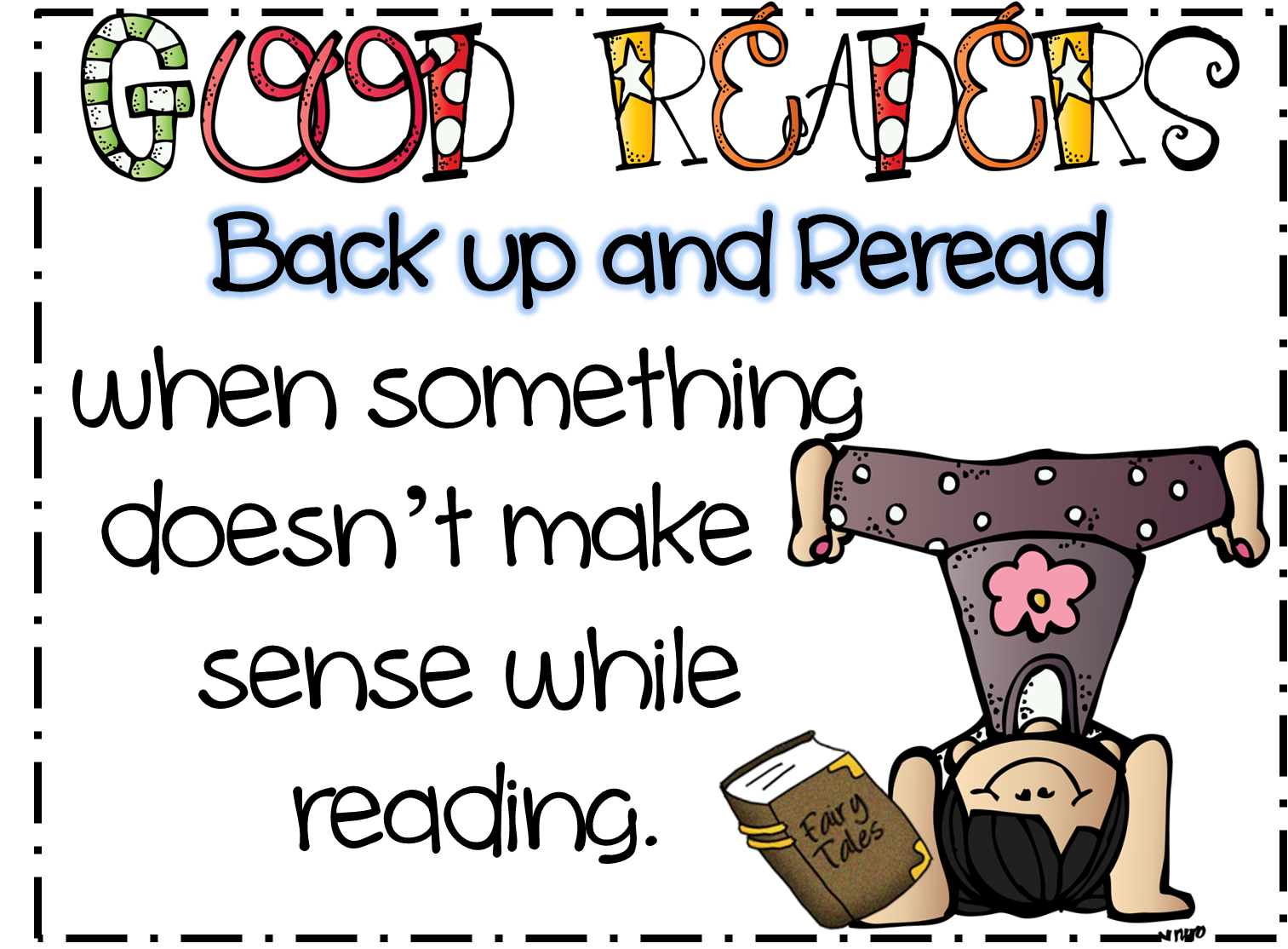First Grade Wow: Back up and Reread! - Reread PNG