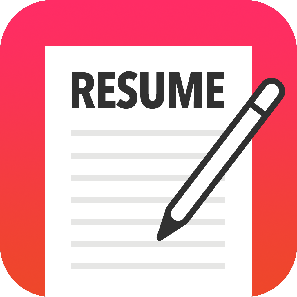 resume icon png - Resume PNG