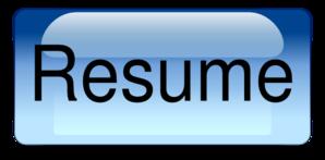 Resume.png Clip Art - Resume PNG