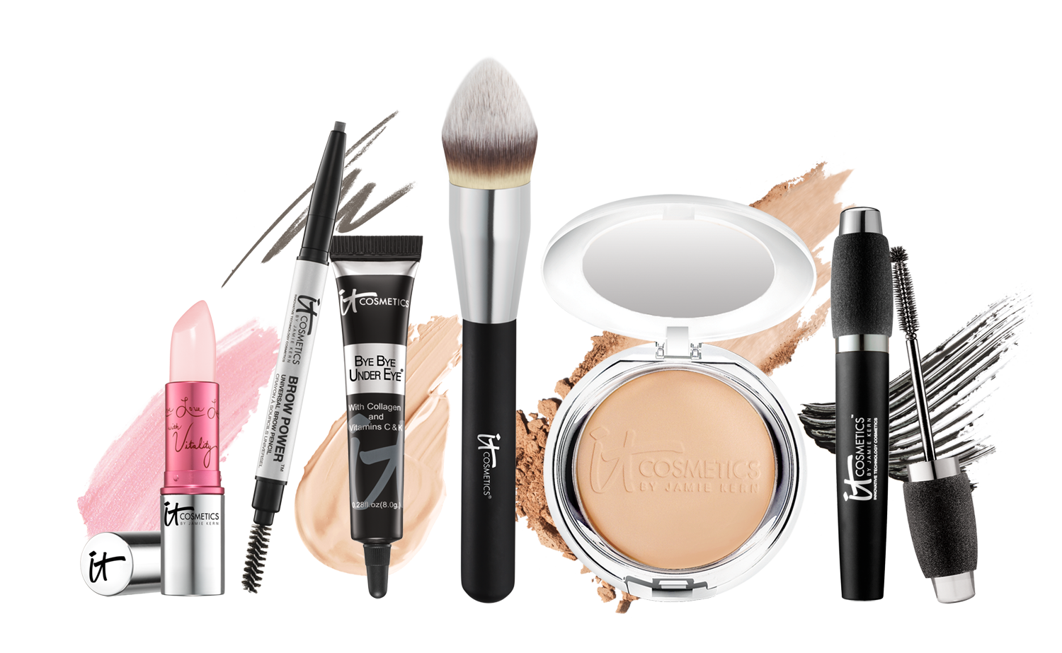 Review, Shades: IT Cosmetics Holiday 2015 Makeup Collection, Best-Selling  QVC Products, Eyeshadow Palettes, Lip Sets - Makeup Kit Products PNG