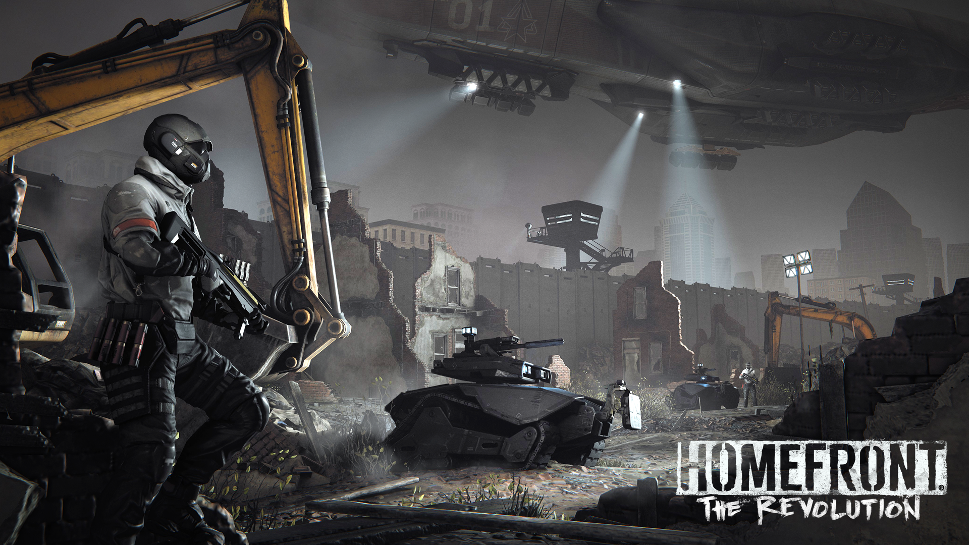 Speaking Of Multiplayer Homefront The Revolution Will Support Four Player Online Cooperative Play