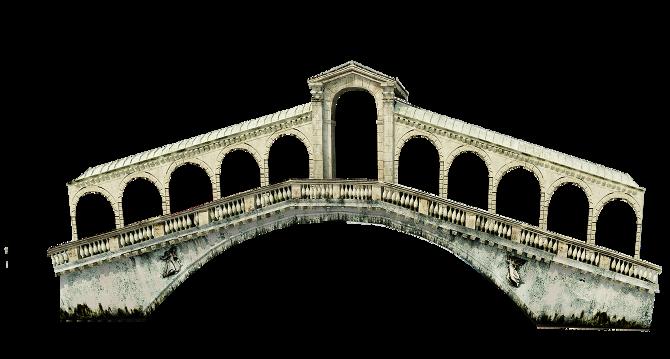 Rialto Bridge PNG