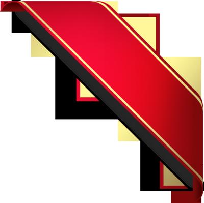Ribbon PNG - 2601